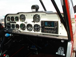 Decathlon instrument panel