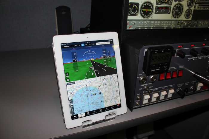 iPad with Simulator